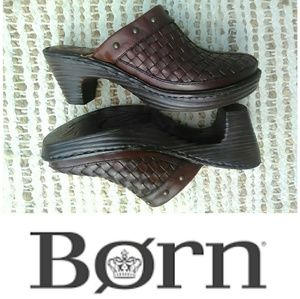 ❤️Woven Leather Clog Slides by Born